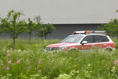 Fokus Fahrzeugsicherheit – Unterwegs mit der Unfallforschung von Volkswagen