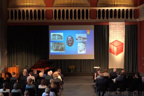 Gedenkstunde anlässlich der Stolperstein-Verlegung für Dr. Heinrich Jasper