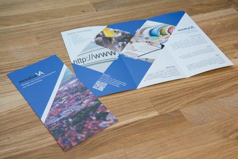 mediaVA – Werbeflyer